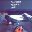 Kylie Jenner e Tyga continuam namorando! Casal afasta boatos de término com snaps e aparição pública