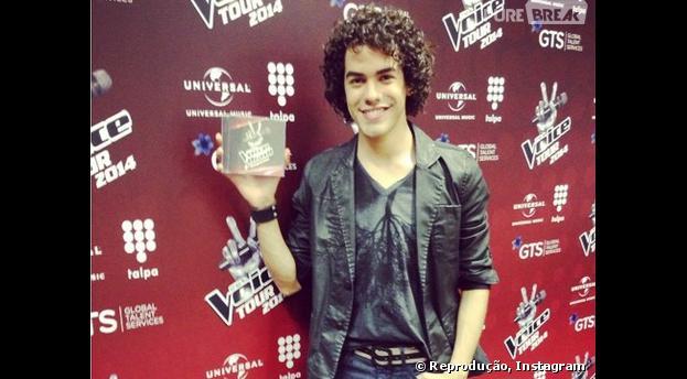 """Sam Alves vai fazer parte do álbum das batalhas do """"The Voice Brasil"""""""