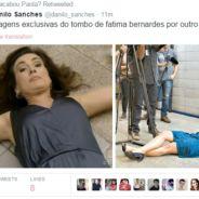 Fátima Bernardes vira meme nas redes sociais e Trending Topic após cair jogando capoeira!
