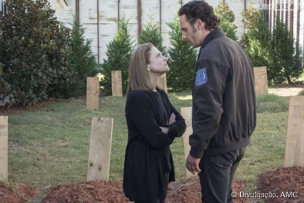 """Em """"The Walking Dead"""", muita ação marca o midseason finale da sexta temporada"""