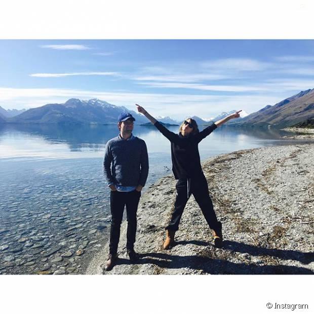 Taylor Swift curte viagem para Nova Zelândia com a família