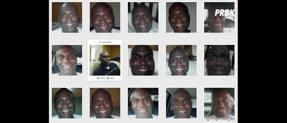 Esse cara estaria devendo uma fortuna em selfies!