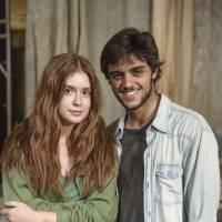 """Marina Ruy Barbosa, de """"Totalmente Demais"""", fala sobre a 1º vez de Eliza e Jonatas (Felipe Simas)!"""