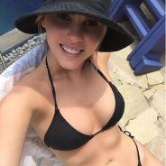 """Bárbara Evans fica de biquíni no Instagram e impressiona com corpo perfeito: """"Sabadão"""""""