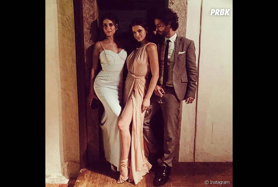 Bruna Marquezine e Thaila Ayala aparecem juntas em clique no casamento de Sophie Charlotte e Daniel de Oliveira