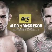 """No """"UFC 194"""": José Aldo e Conor McGregor disputam luta histórica em Las Vegas, nos EUA!"""