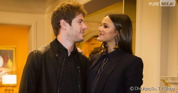 """Bruna Marquezine e Maurício Destri interpretaram os protagonistas de """"I Love Paraisópolis"""" e tiveram um relacionamento durante 2015"""
