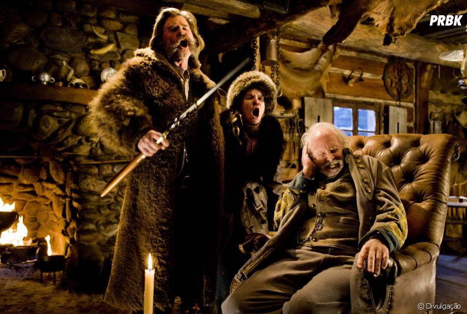 """""""Os Oito Odiados"""" é o novo filme do diretor Quentin Tarantino"""
