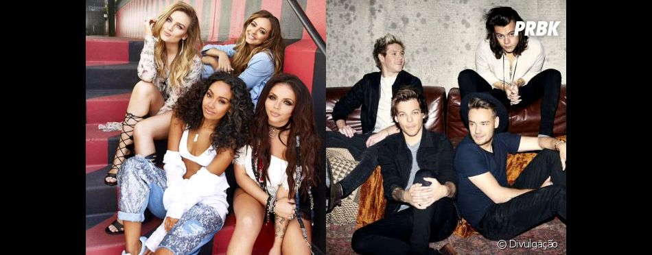 """No UK,One Direction e Little Mix recebem certificado de Platina com """"Made In The A.M."""" e """"Get Weird"""""""