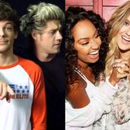 One Direction e Little Mix começam 2016 com certificados de Platina por seus mais recentes álbuns