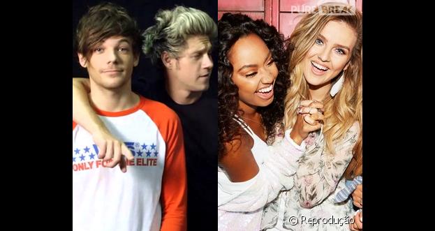 Por novos álbuns, One Direction e Little Mix ganham disco de Platina no Reino Unido