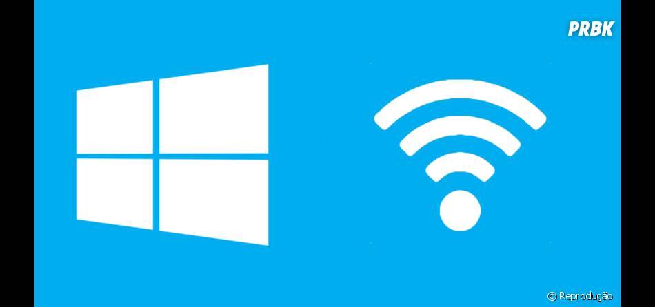 Windows 10, da Microsoft, compartilha senha do WiFi com amigos do Facebook, Skype e email!