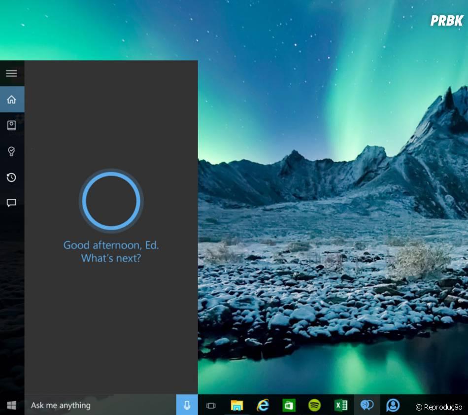 A Cortana, da Microsoft,recebeu mais de 2,5 bilhões de perguntas desde seu lançamento