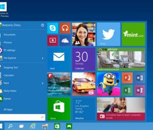 O Menu Iniciar do Windows 10, da Microsoft, é um dos que deve sofrer mudanças em próxima atualização do sistema operacional