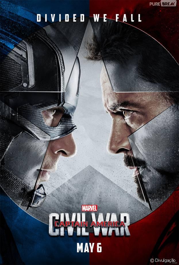 """Chris Evans explica briga entre super-heróis, em """"Capitão América 3: Guerra Civil"""""""