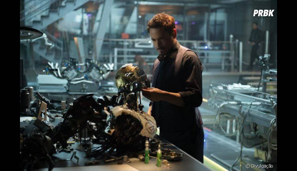 """O Homem de Ferro também pode ser visto em """"Os Vingadores 2: A Era de Ultron"""""""