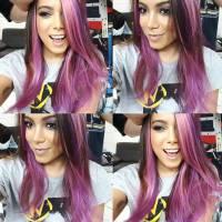Anitta surge com cabelo colorido nas redes sociais e fãs surtam com mudança de visual da cantora!