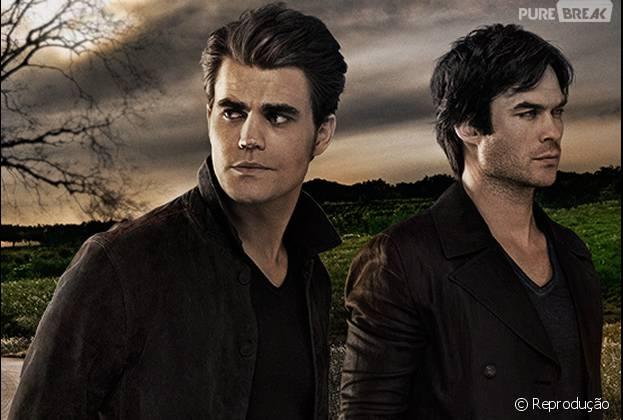 """Em """"The Vampire Diaries"""": Ian Somerhalder e Paul Wesley vão decidir quando a série vai acabar!"""