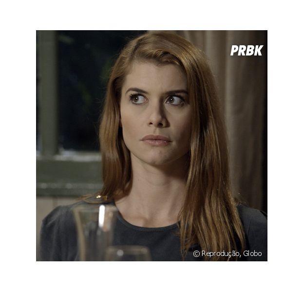 """Em """"Além do Tempo"""", Lívia (Alinne Moraes) acaba com planos de Melissa (Paolla Oliveira) e Pedro (Emílio Dantas)"""