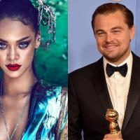 Rihanna namorando? Cantora é vista aos beijos com Leonardo DiCaprio e fotos vazam na web!