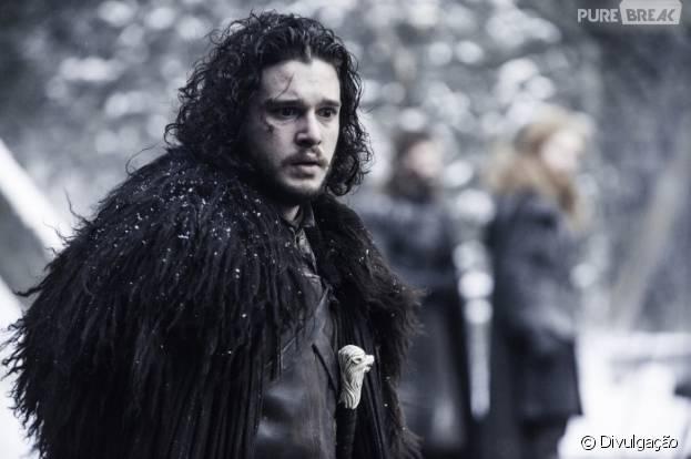 """Em """"Game of Thrones"""": Jon Snow (Kit Harington) de volta? Ator revela que personagem morreu mesmo!"""