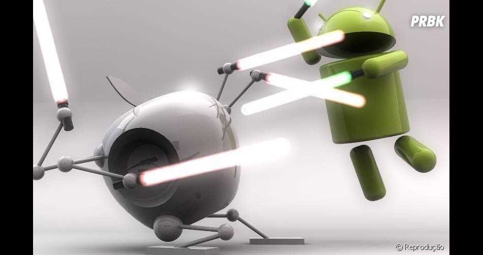 Google e Apple são as maiores empresas de telefonia do mercado!