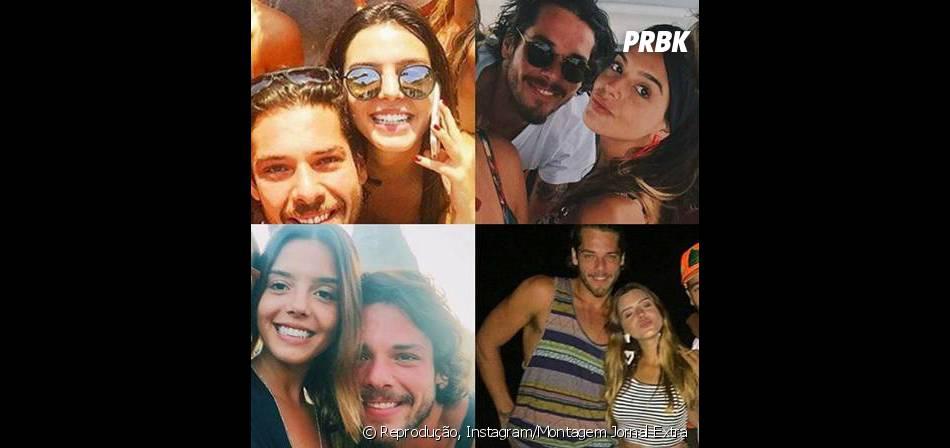 Giovanna Lancellotti e Gian Luca estão namorando e várias fotos do casal estão nas redes sociais