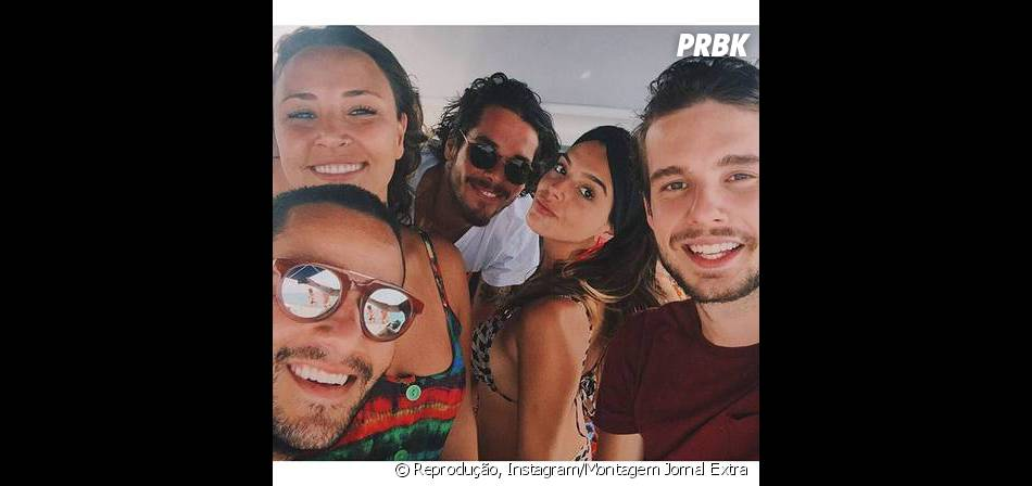 Giovanna Lancellotti e Gian Luca ficavam há meses, mas agora o affair virou namoro!