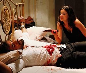 """Aline (Vanessa Giácomo) resolveu seguir com seu plano sem Ninho (Juliano Cazarré) em""""Amor à Vida"""""""