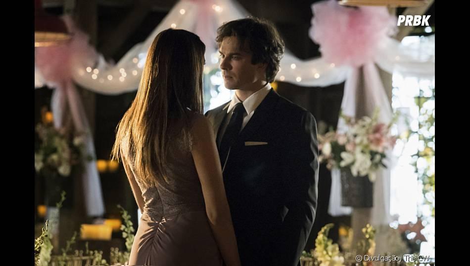 """Em """"The Vampire Diaries"""", Damon (Ian Somerhalder) sem Elena (Nina Dobrev) foi um dos momentos mais marcantes de 2015!"""