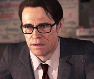 Willem Dafoe como o cientista Nathan em Beyond: Two Souls