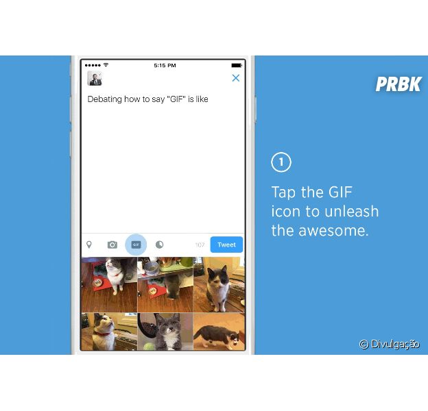 Twitter vai acrescentar botão exclusivo para colocar GIFs nas postagens!