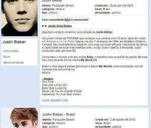 Justin Bieber já era amado pelos brasileiros desde a época do Orkut