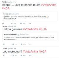 """Anitta comenta sobre Leonardo DiCaprio, hit """"Work"""" da Rihanna, férias e mais em bate-papo no Twitter"""