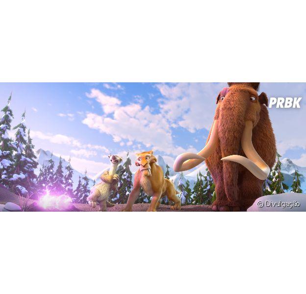 """""""A Era do Gelo 5: O Big Bang"""" ganhou um novo trailer"""