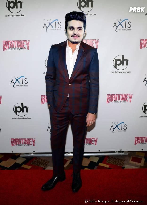 Luan Santana curtindo um super show da Britney Spears
