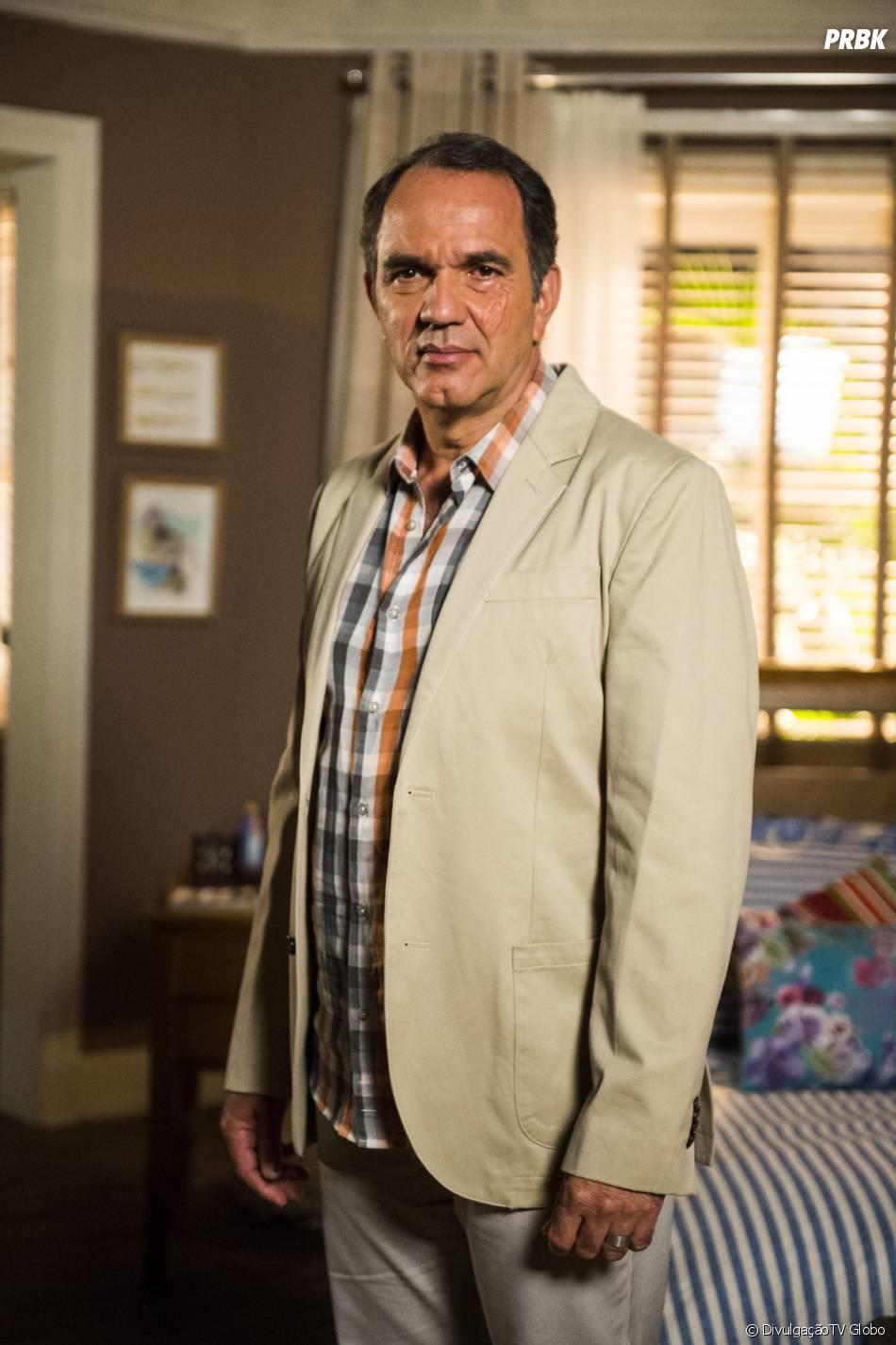 """Na terceira fase de """"Em Família"""", Virgílio é Humberto Martins"""