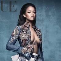 """Rihanna, do hit """"Work"""" posa toda poderosa para a Vogue britânica e arranca elogios dos fãs"""