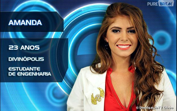 """A participante do """"BBB14"""" Amanda falou mal do cantor Luan Santana e agora o fã clube do sertanejo se movimenta para eliminar a sister"""
