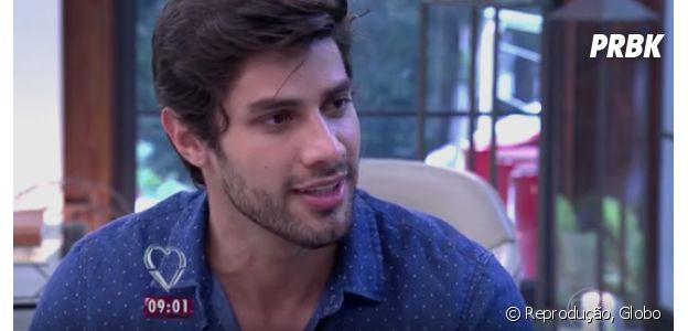 """No """"BBB16"""", Renan nega ser gay e diz que quer casar com ex-namorada!"""