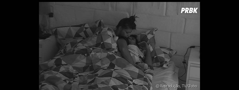 """Entre tapas e beijos: Fran e Diego forma o casal ioiô na casa do """"BBB14"""""""