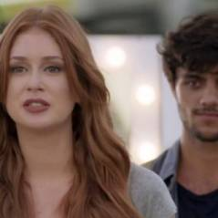 "Novela ""Totalmente Demais"": Jacaré (Sérgio Malheiros) tenta matar Eliza, mas Jonatas impede!"