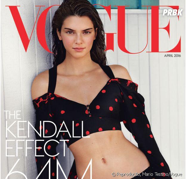 Pela primeira vez, Kendall Jenner posa para Vogue americana