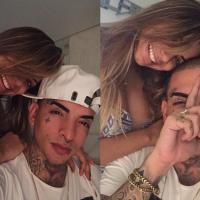 """Lexa e MC Guime no maior love! Cantora publica foto romântica e se declara: """"Como você me faz feliz"""""""