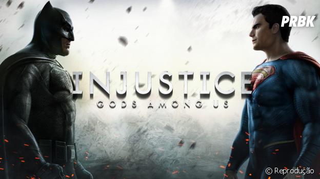 """De """"Batman Vs. Superman"""": """"Injustice: Gods Among Us""""é um dos melhores jogos inspirados nos personagens do filme!"""