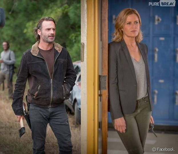 """""""The Walking Dead"""" e """"Fear The Walking Dead"""" tem histórias parecidas, óbvio, e por isso um encontro das duas séries seria tão interessante"""