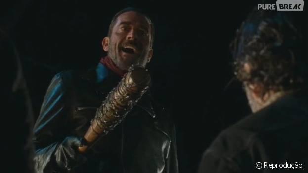 """Negan (Jeffrey Dean Morgan) mostrou quem manda em """"The Walking Dead""""!"""