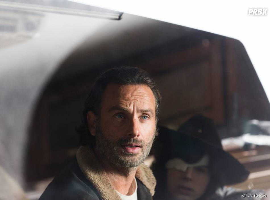 "Em ""The Walking Dead"", Rick (Andrew Licoln) se desesperou quando percebeu que seu grupo estava encurralado"