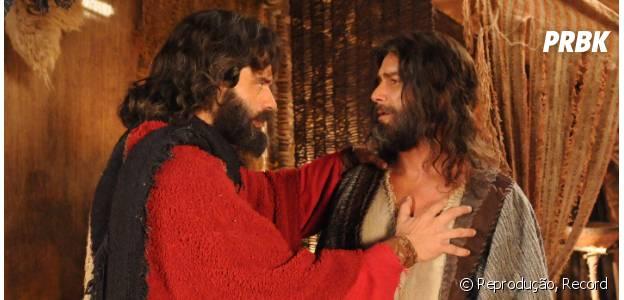 """Em """"Os Dez Mandamentos"""": na 2ª temporada, Moisés (Guilherme Winter) e Arão (Petrônio Contijo) terão novos desafios pela frente!"""