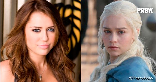 Miley e Khaleesi